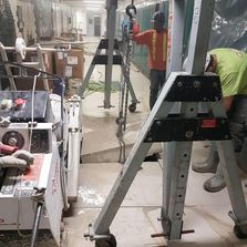 Floor Sawing Suspended Slab
